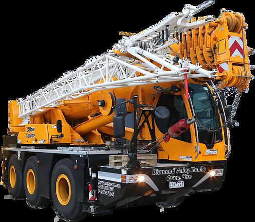 45t liebherr crane