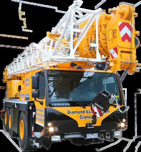 Liebherr 60 ton Crane